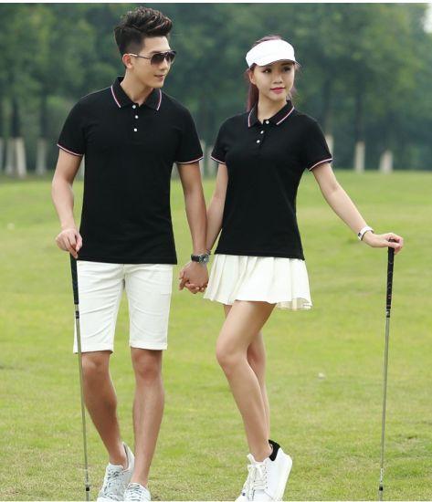 Moisture Wicking Unisex Golf Polo Shirt with Custom Logo