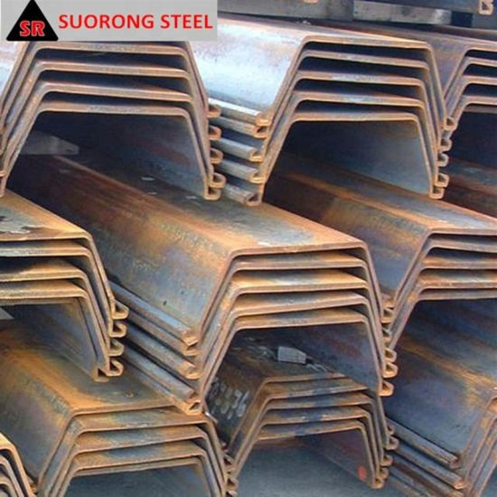 Popular Sell Used Type 2 Larsen Vinyl Steel Sheet Pile Price List in China