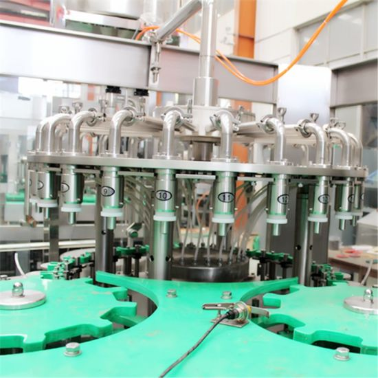 Aseptic Glass Bottle Liquid Juice Beverage Water Hot Filling Sealing Packing Bottling Packaging Machine pictures & photos
