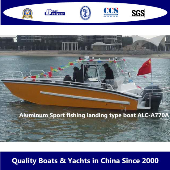 Aluminum Sport Fishing Landing Type Boat Alc-A770A pictures & photos