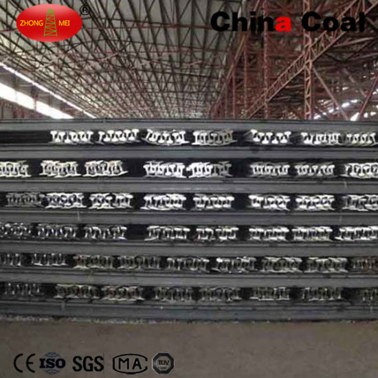 Factory Price Q235 Material 15kg/M Railroad Track Light Steel Rail pictures & photos