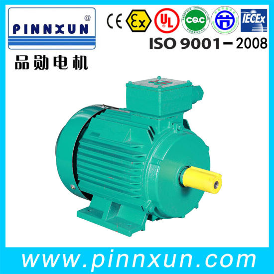 Three Phase Squirrel Cage Air Compressor Pump Motor 110kw