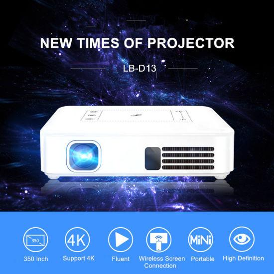 2019 Best Mini Intelligent Palm 4K HD Pocket Projector China OEM/ODM  Manufacturer