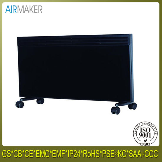 Curved Electrical Glass Panel Convector Heater with 24h Timer pictures & photos