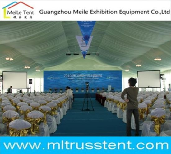 Luxury Wedding Marquee Event Party Exhibition Trade Show Glass Tent (ML088) pictures & photos
