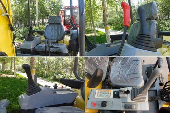 Haiqin Brand Small Crawler Excavator (SQ8022) with CE pictures & photos