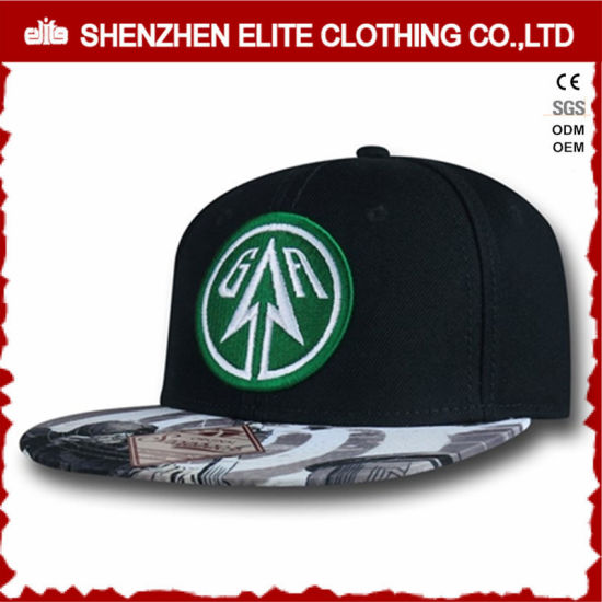 Black Snapback hat Embroidery Cheap Custom Hats No Minimum