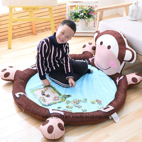 Hot Sell Cute Cartoon Carpet Plush Toy Baby Play Gym Mat
