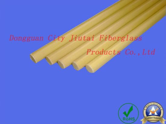 Good Tenacity Pultrusion Fiberglass Hollow Rods for Wide Usage pictures & photos