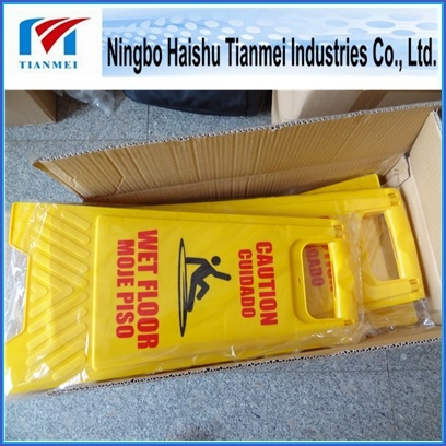 Wet Floor Sign, PP Notice Sign, Warning Sign for Sale pictures & photos