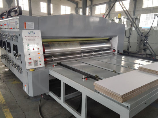 Semi-Automatic Corrugated Carton Flexo Printing Machine pictures & photos