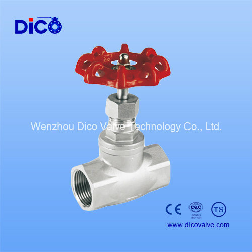 200wog Stainless Steel Globe Valve Bsp/BSPT/NPT Thread Ending pictures & photos