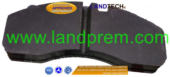 Actros Brake Pad Wva29245 for Mercedes Benz Truck/Bus/Trailer pictures & photos