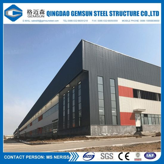Chinese Supplier Steel Structure Warehouse Building
