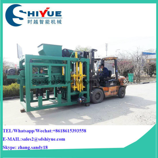 House Building Brick Equipment Qtj4-25 Concrete Paving Block Making Machine in Philippines pictures & photos