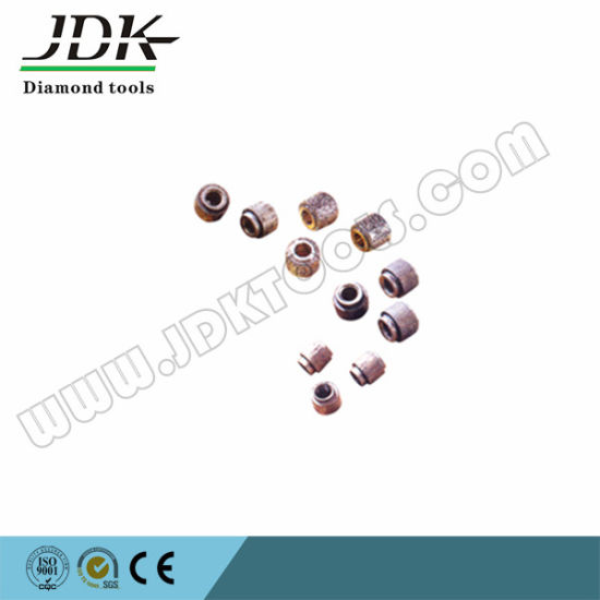 China Sinter Diamond Wire Beads for Quarrying Profiling Squaring ...