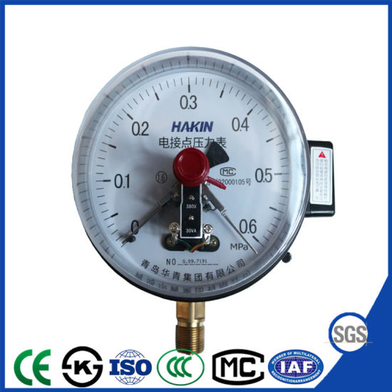30va Photoelectric Induction Electric Contact Pressure Gauge with Ce