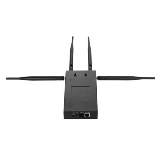 Wall Mounted Indoor Wireless Ap Poe Power Supply Dualband WiFi Bridge High Power Support 48V Poe (TS206F) pictures & photos