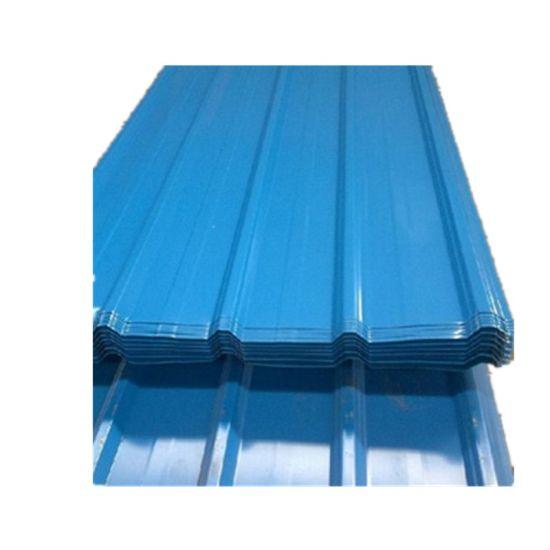Prepainted Corrugated Sheet Zinc Coated Steel Roofing Sheet pictures & photos