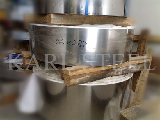 Half Copper 201 Stainless Steel Coil with 2b Finish Cold Rolled pictures & photos