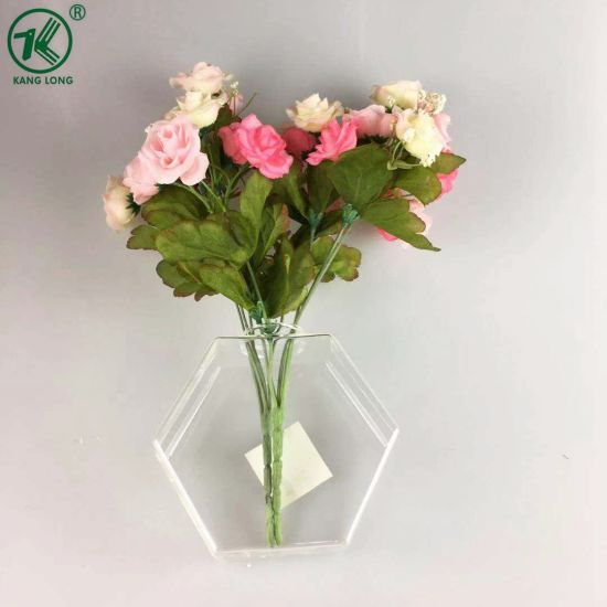 YANGZHOU KANGLONG GLASS ARTS CO. LTD. & China Glass Flower Vases with Different Shapes Circle Heart ...