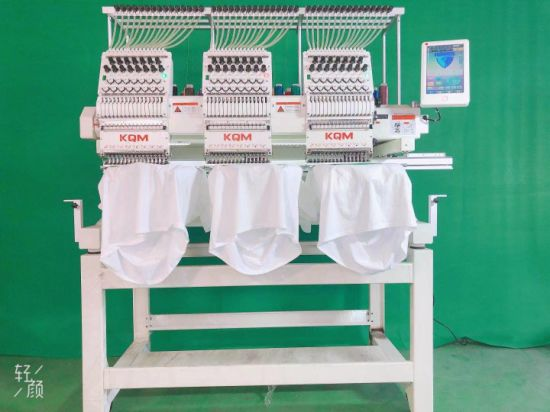 Flat Clothing 3D Embroidery Machine Computer Price 3 Head Barudan Automatic Embroidery Machine Japan