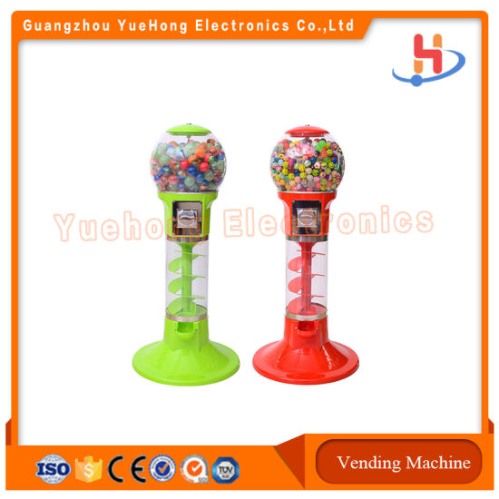 Spiral Shopping Mall Bouncy Ball Toy Capsule Gashapon Gumball Vending Machine