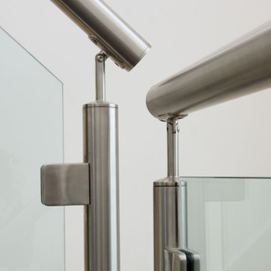 Customized Stainless Steel Handrail Glass Balustrade Railing with Ce
