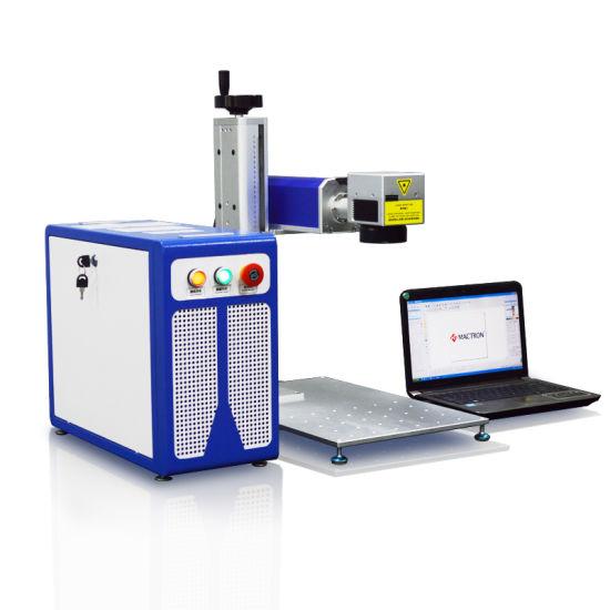 20W Raycus Fiber Laser Marking Machine for Marking Metal Stainless Steel