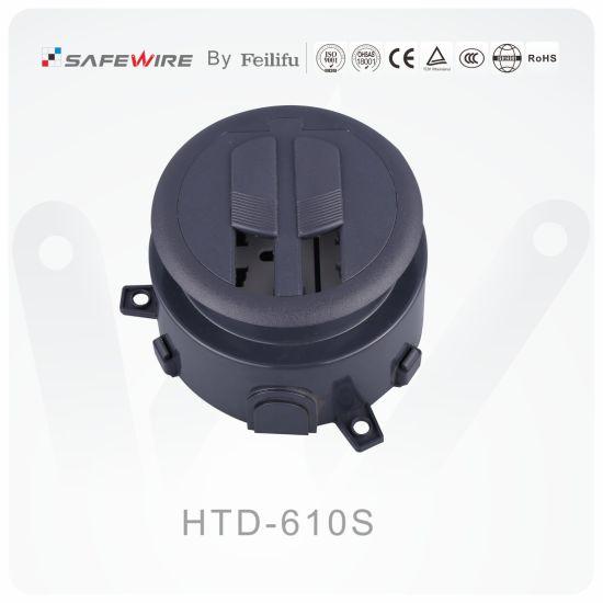 abs material hidden table socket/power and data desk grommets
