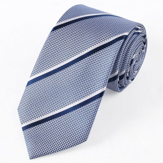 Wholesale Promotion Silk Jacquard Strip Ties pictures & photos