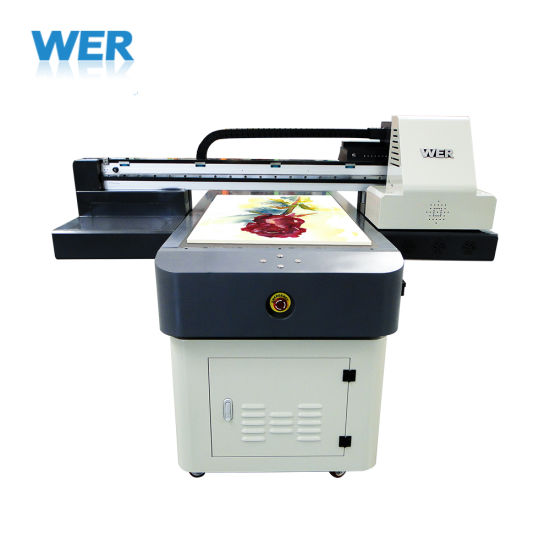 Glass Ceramic Leather Wood Metal Printing Machine Wer-Et6090UV