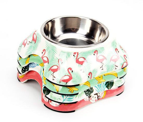 Stainless Steel Pet Dog Bowl, Non-Slip Dog Bowl