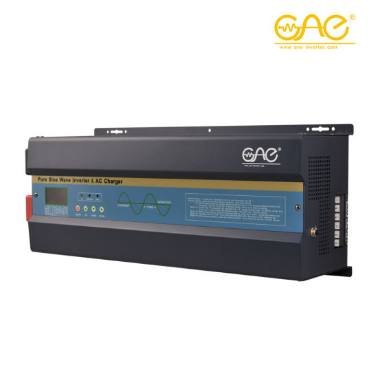 off Grid Power Pure Sine Wave Inverter 4000W 24VDC 48VDC to 230VAC Low Frequency Inverter