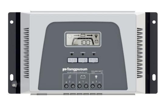 Manufactory Fangpusun Intelligent LCD Display MPPT Solar Power Charging Controller 30A 12V 24V