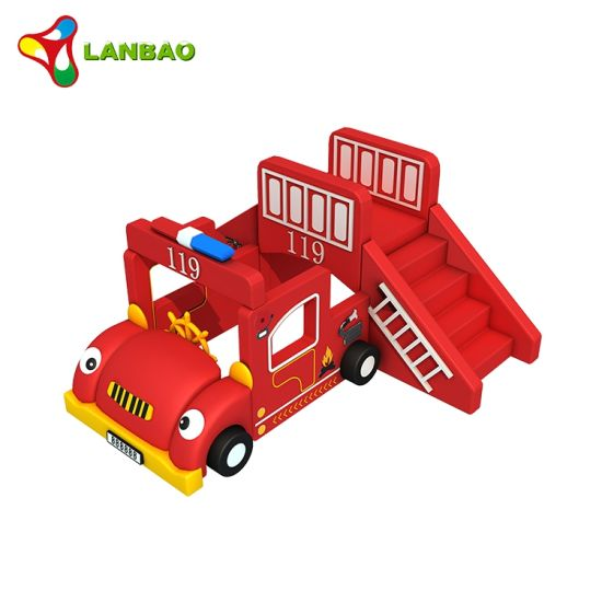 New Design Child Fire Truck Soft Play Toys Indoor Soft Play Sit Equipment for Sale