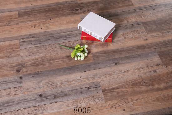 Factory Sound Absrption Click Lock Spc Flooring 4mm 5mm 6mm with IXPE EVA Underlayer