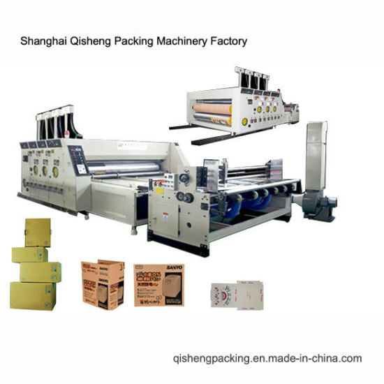Hot-Selling Auto Feeding Carton Box Printing and Die-Cutting Machine