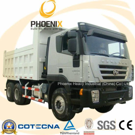 6X4 340HP Iveco Genlyon Dump Truck/ Tipper