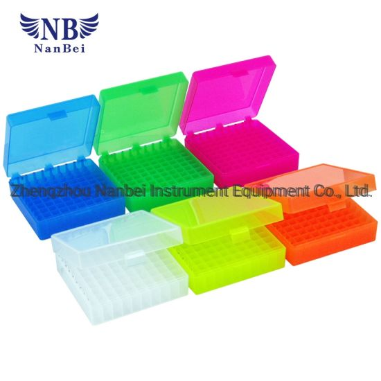 100-Cell Hinged Plastic Boxes with Ce pictures & photos