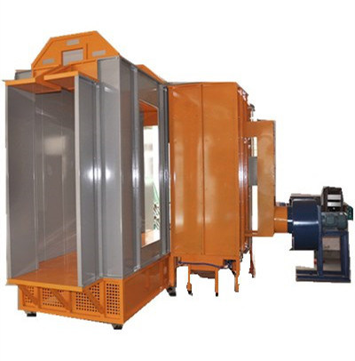 Tunnel Spray Booth for Powder Coating