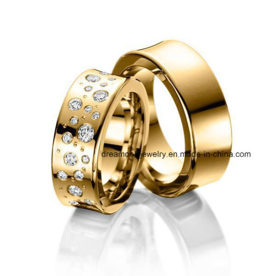Top Quality Dummy Rings Oem Odm Gold Plated Brass Copper Rings Set