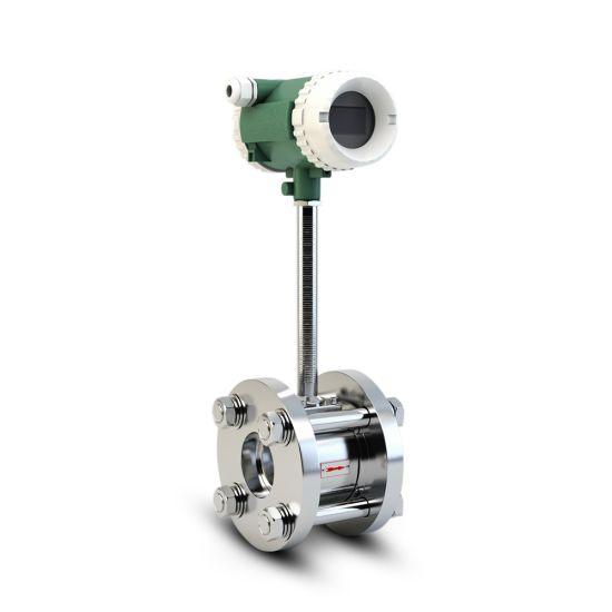 Chinese Supplier Natural Gas Compressed Air Vortex Flow Meter