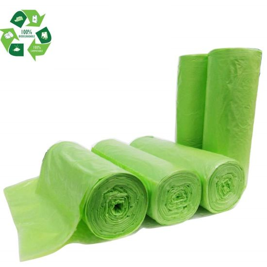 Customized 100% Biodegradable Garbage Wholesale, Eco-Friendly Trash Bag
