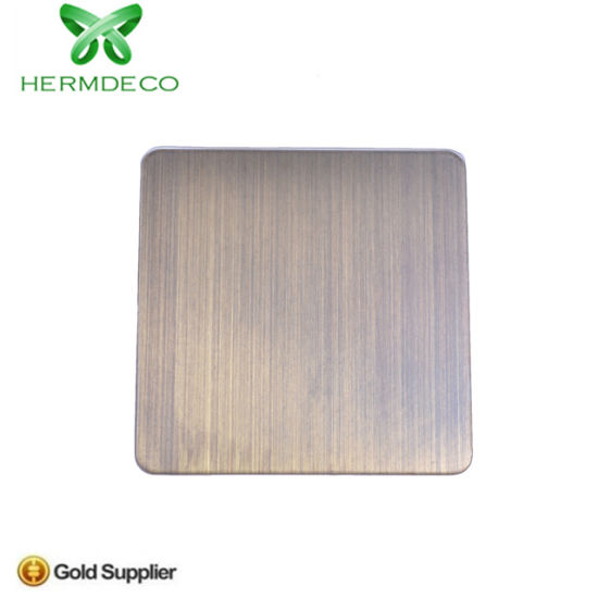Fabrication Material Brush Stainless Steel Sheet for Kitchen pictures & photos