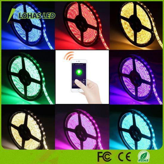 Smartphone Controlled RGB LED Strip Light Kit