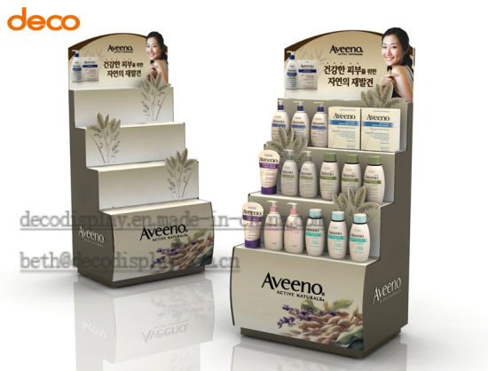 China Coosmetic Paper Pop Floor Display Cardboard Display Stand Extraordinary Product Displays Stands