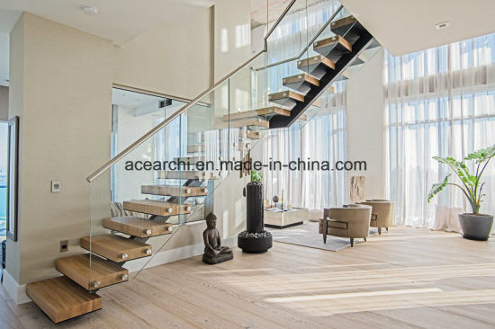 China Modern Design Low Cost Glass Stair Railing / Balcony Frameless ...