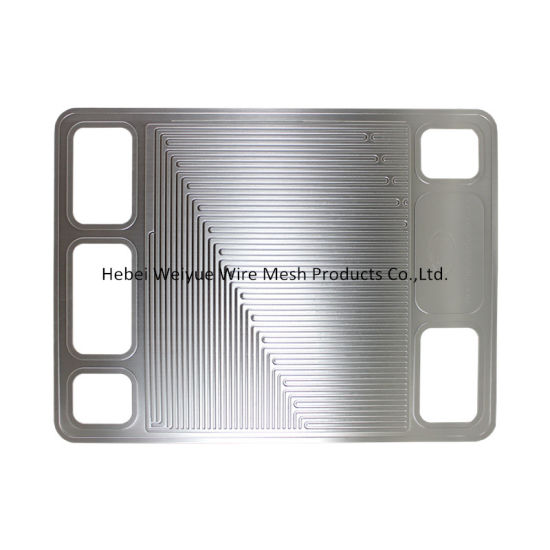 Stainless Steel Perforated Metal Sheet Photo Etching Mesh for Titanium Etched Fuel Cell Plate pictures & photos