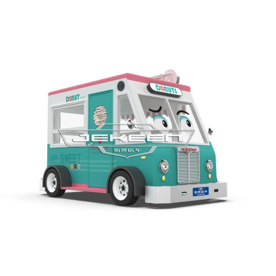 Jekeen Mobile Food Truck Food Trailer Business for Sale of Berlin